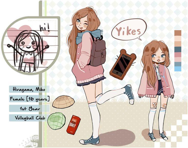 TH: Miho by sugarglum on DeviantArt