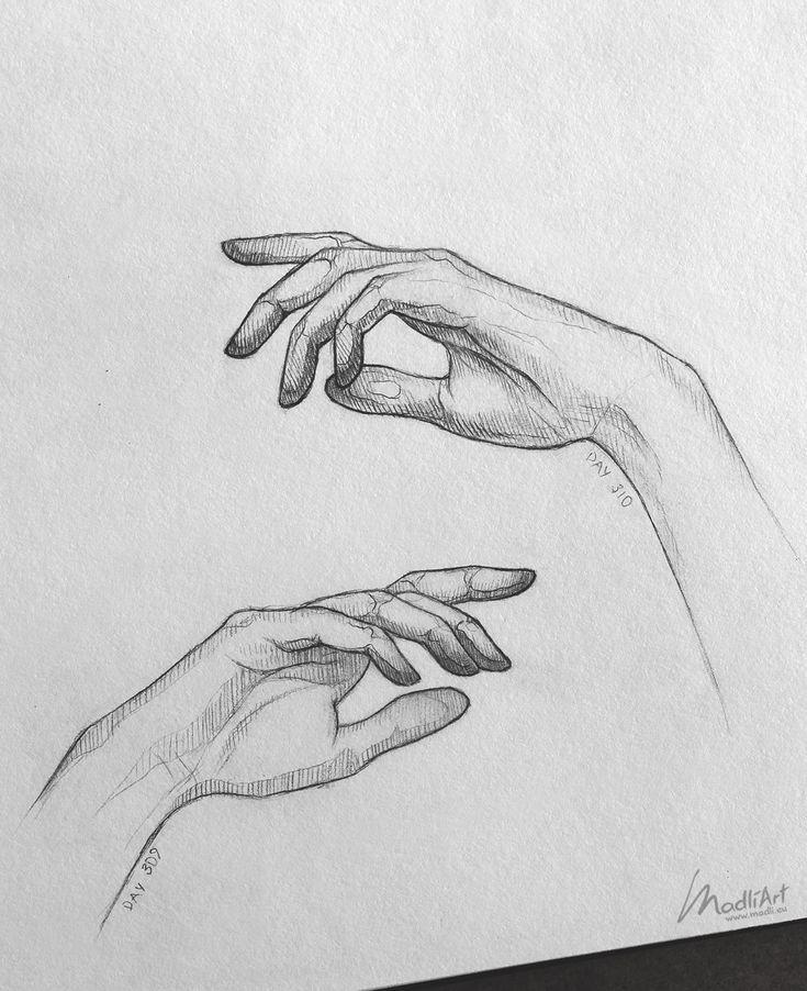 вот рука рисует карандашом картинка здоровье