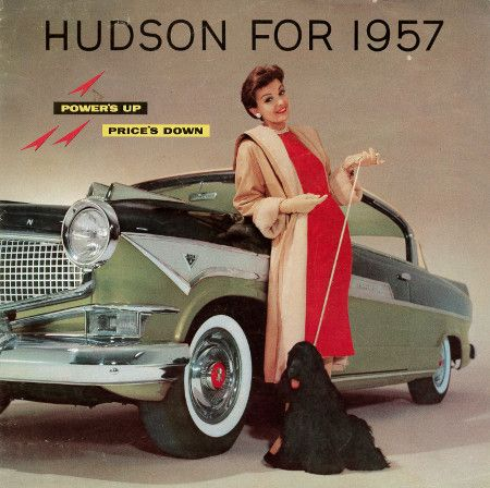 MotorCities National Heritage Area - '57 Hudson Ad (last year for Hudson)