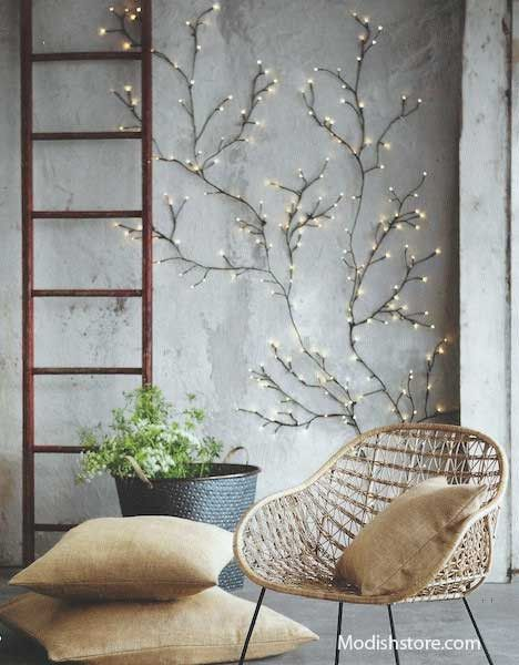 Roost Twinkling Willow Wall Lights, Small & Large * Next Day Shipping*