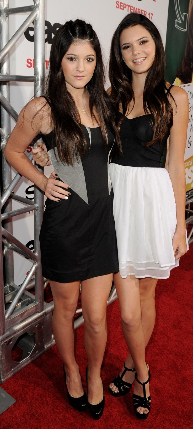 Kendall & Kylie Jenner...Kourtney, Kim and Khloe watch out because the Jenners are taking over! :)