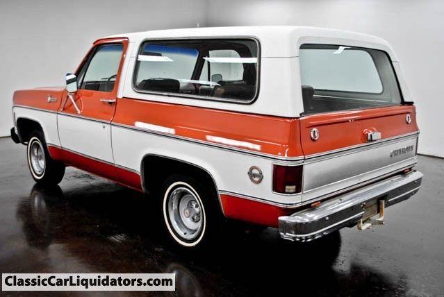 1976 Chevrolet Blazer K5 Cheyenne 2WD - Classic Car Liquidators