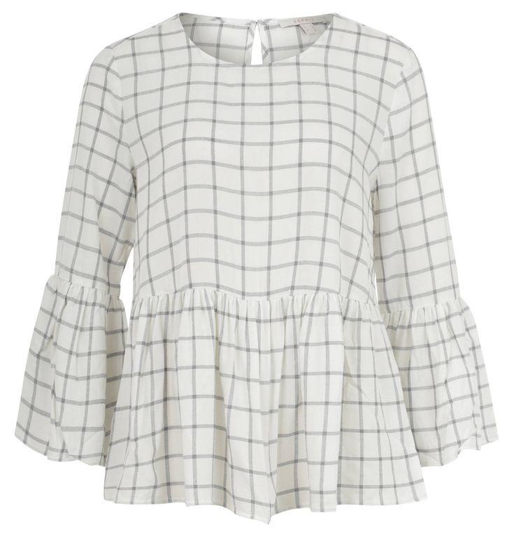 Diese Volant-Bluse von Esprit ist super geeignet für den Frühling! #style #esprit #galeriakauhfhof #volant