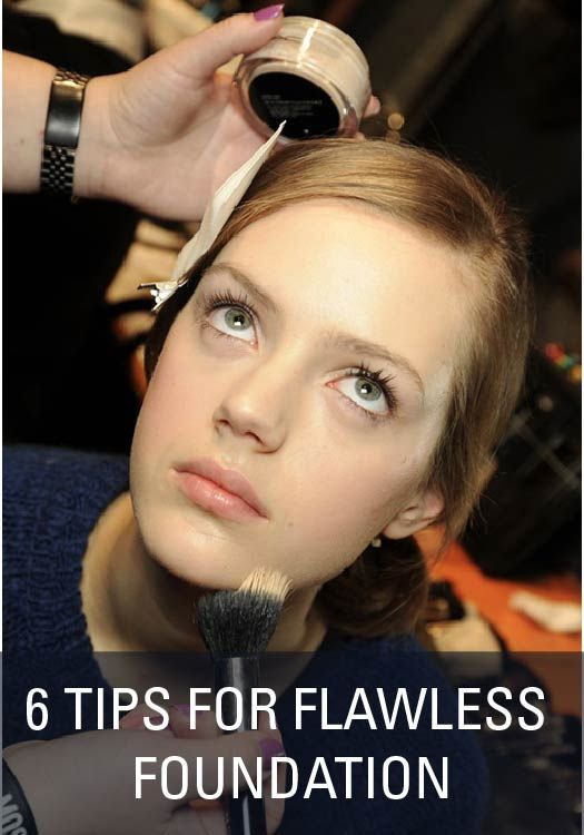 6 Tips for Flawless Foundation says to use highlighter under foundation
