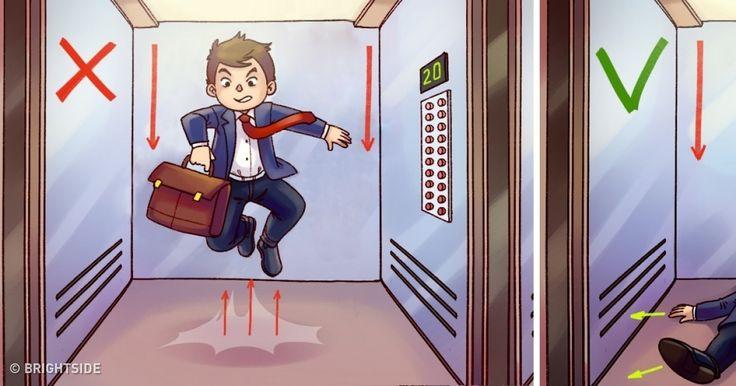 How toGet Out ofaFalling Elevator Alive