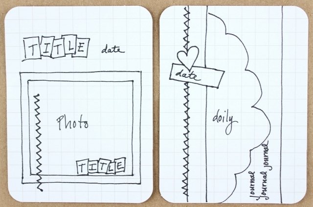 CitrusTwist | Playing With Project Life: PL Sketches to Inspire You (2.22.2013)
