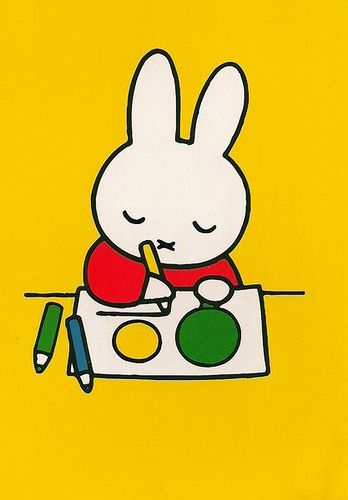 Drawing Miffy by selphie10, via Flickr