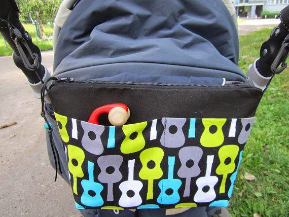 Stroller bag diaper bag baby stroller organiser by HelenaKaminska