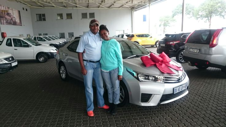 #Congratulations to Mr and Mrs Magae on their #Toyota #Corolla #CVT #Prestige all the way from #Mafikeng #Northwestprovince Wishing you many happy miles!   Contact me for all your #new #used #preowned #demo #cars #bakkies #sedans #hatchbacks #SUV #Coupe ALL MAKES AND MODELS! I have over 1,500 cars available in our group!   #Finance available, #best prices for your trade in, I #deliver across SA!    0828858780 aadil.khan@supergrp.com www.deviantdealer.co.za