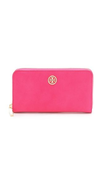 Tory Burch -I need a new wallet to replace my LV that is ancient. I would like a brown or red wallet.