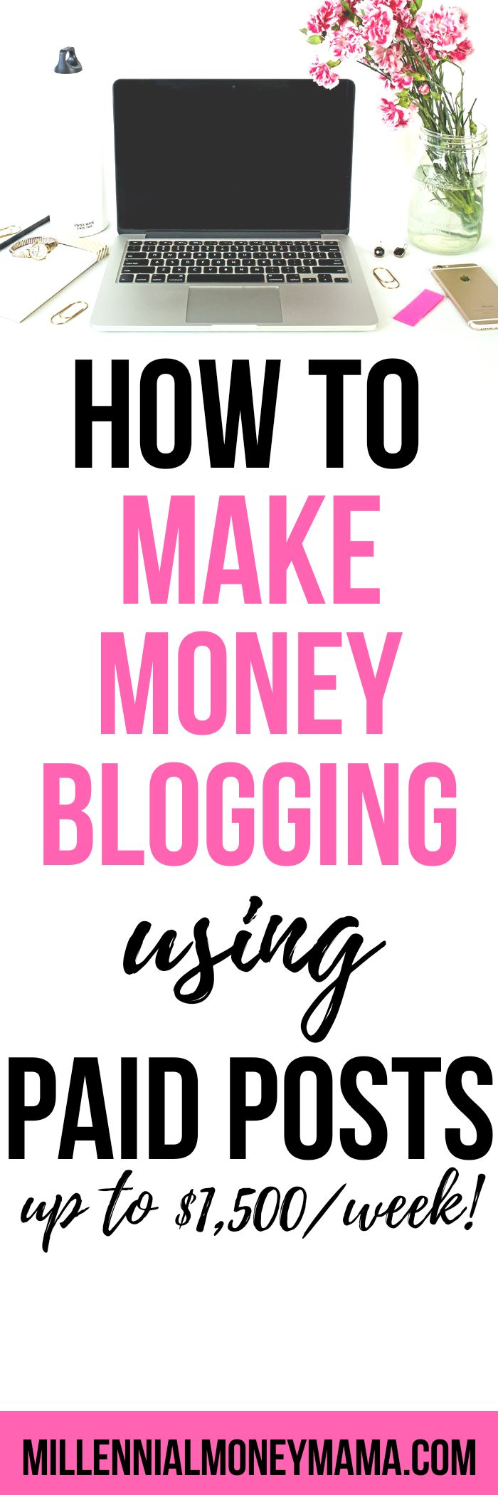 Earn thousands weekly from companies who pay you to post on your blog. Check ot out #bloggingformoney #blogging #makemoneyblogging #blogsponsorship #bloggingideas