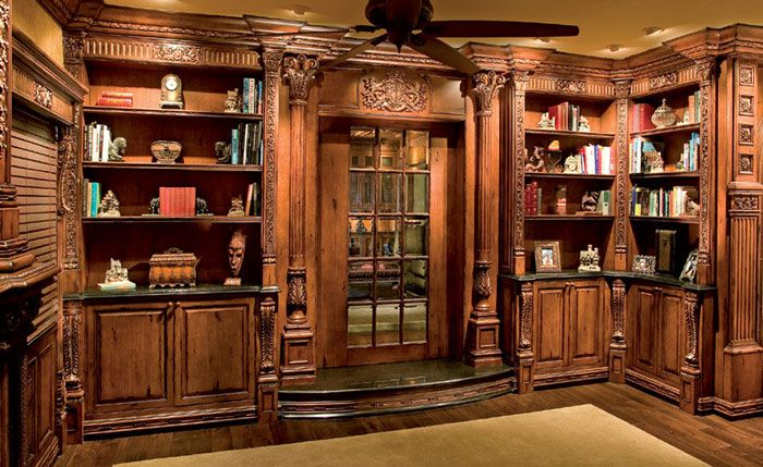 54 Best Library Paneling Design Ideas Images On Pinterest