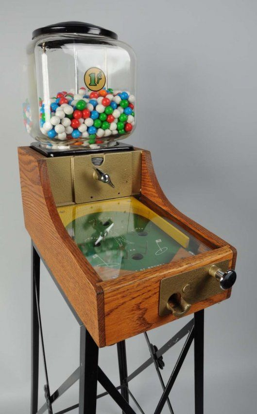 gumball pinball machine