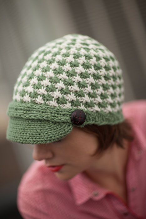 Free Crochet Pattern Houndstooth Hat : 17 Best images about Knitting on Pinterest Stitches ...