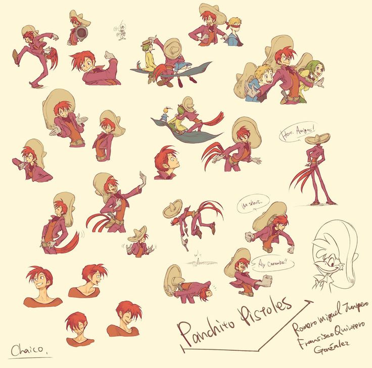 Assorted Panchito by chacckco on deviantART