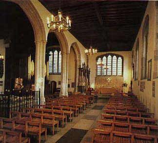 The Chapel on the Tower of London where Anne Boleyn & Kathryn Howard are buried.