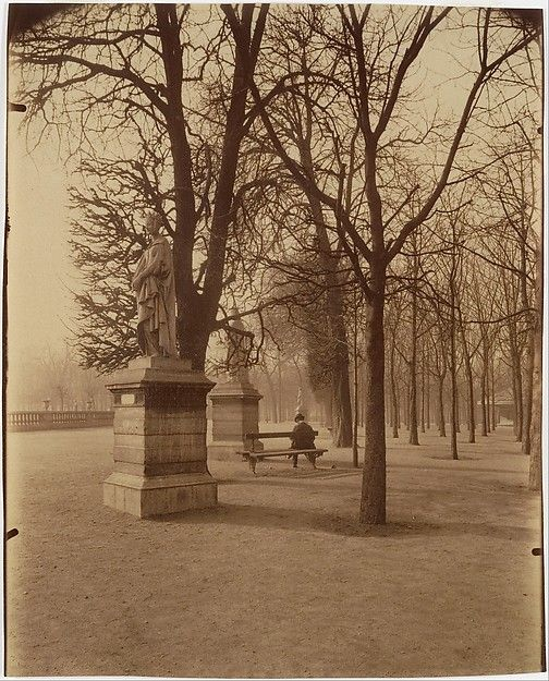 Eugène Atget (French, 1857–1927). Jardin du Luxembourg, 1902. The Metropolitan Museum of Art, New York. Gilman Collection, Museum Purchase, 2005 (2005.100.529)