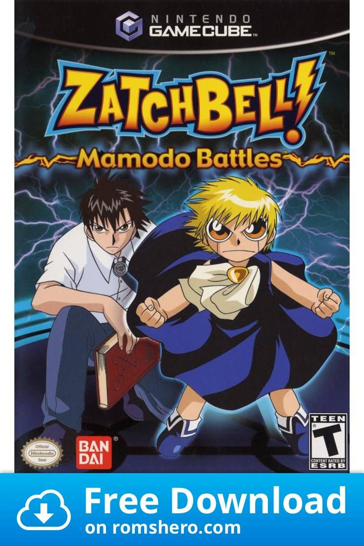 Download Zatch Bell Mamodo Battles GameCube ROM in 2020