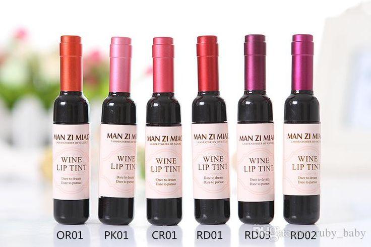 Beauty Matte Wine Bottle Lip Tint Liquid Lipgloss Waterproof Long Lasting Stained Glaze Makeup Lakme Lip Gloss Lip Palette From Ruby_baby, $9.05| Dhgate.Com