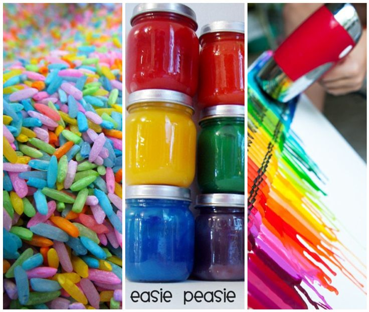 Fun stuff for the kids! Bath paint, playdough and other creative projects! :)