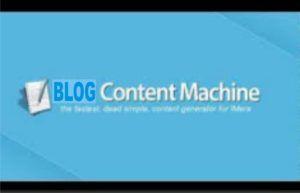 Online Unique Blog Content Machine