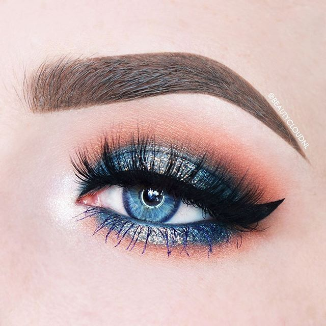 WEBSTA @ beautycloudnl - 100 Days of Makeup - Day 37/100Eyelook using the…