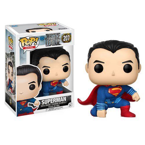 Justice League Movie  Superman Pop! Vinyl Figure - Funko - Justice League - Pop! Vinyl Figures at Entertainment Earth