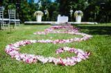 Ceremony rose petals ornament Designed by La Florista