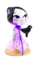 £6.40 DJECO Arty Toys, Elvira - Fairy Princess Elvira is very trustworthy so Colomba has asked her to bird-sit while she is away on holiday. What should Elvira do to entertain the birds? What should she feed them?
