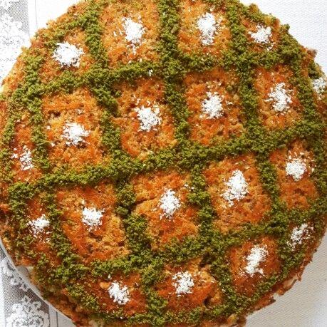 Kremali havuclu kek