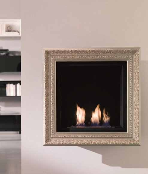 ethanol fireplace divine design. bioethanol wall-mounted #fireplace classic by ozzio design | #design designdivision, studio ethanol fireplace divine
