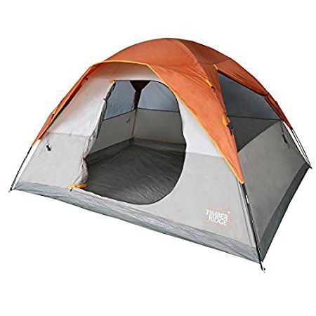 2017 Timber Ridge 6 Person Family Camping Tent – Incredible Price  Timber Ridge 6 Person Family Camping Tent is a nicely built summer tent for families and groups, freestanding, nicely packable, with an easy setup, and with an incredible price. #tents, #camping, #outdoors, #familycampingtents, #familytents.