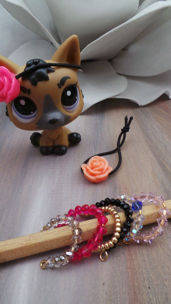 Lps custom necklace/collar/hair bands. Lps by AllAboutEveCreations