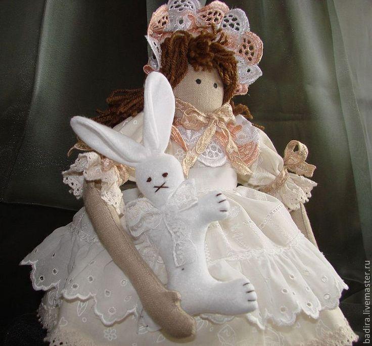 Купить Винтажная кукла в стиле кантри - интерьерная кукла, кукла для игры, винтаж, кантри