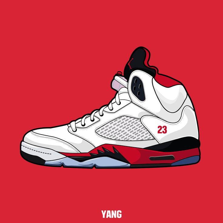 drawing, shoes, sneakers, nike, air, jordan, carmine,graphic,