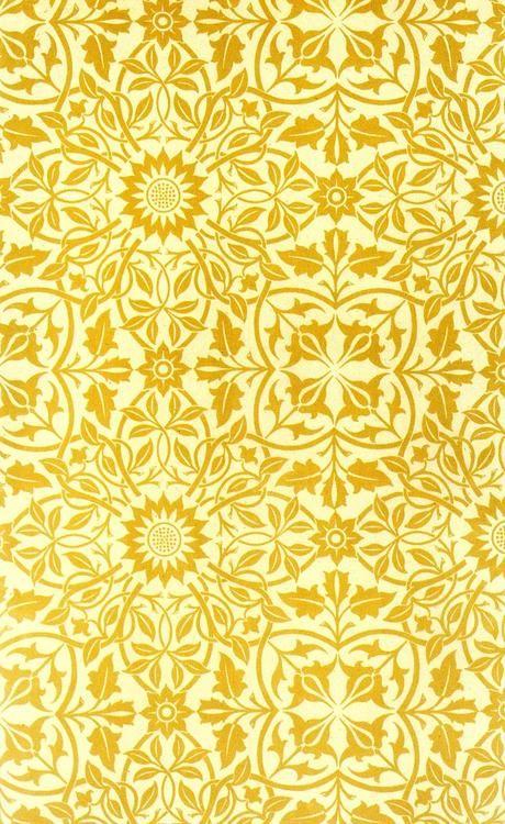 William Morris, Part X.'Ceiling Paper (Designed for St. James's Palace)'.