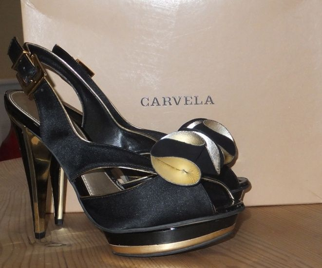 buyMYheels.com - The place to buy and sell designer shoes - Shoe Shop - Available - Very high Carvela Evening Shoes