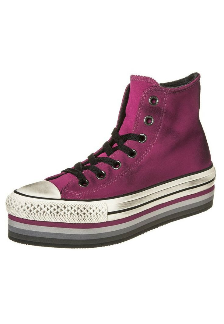 Converse ALL STAR Sneakers hoog Roze - Converse ALL STAR Sneakers hoog Roze