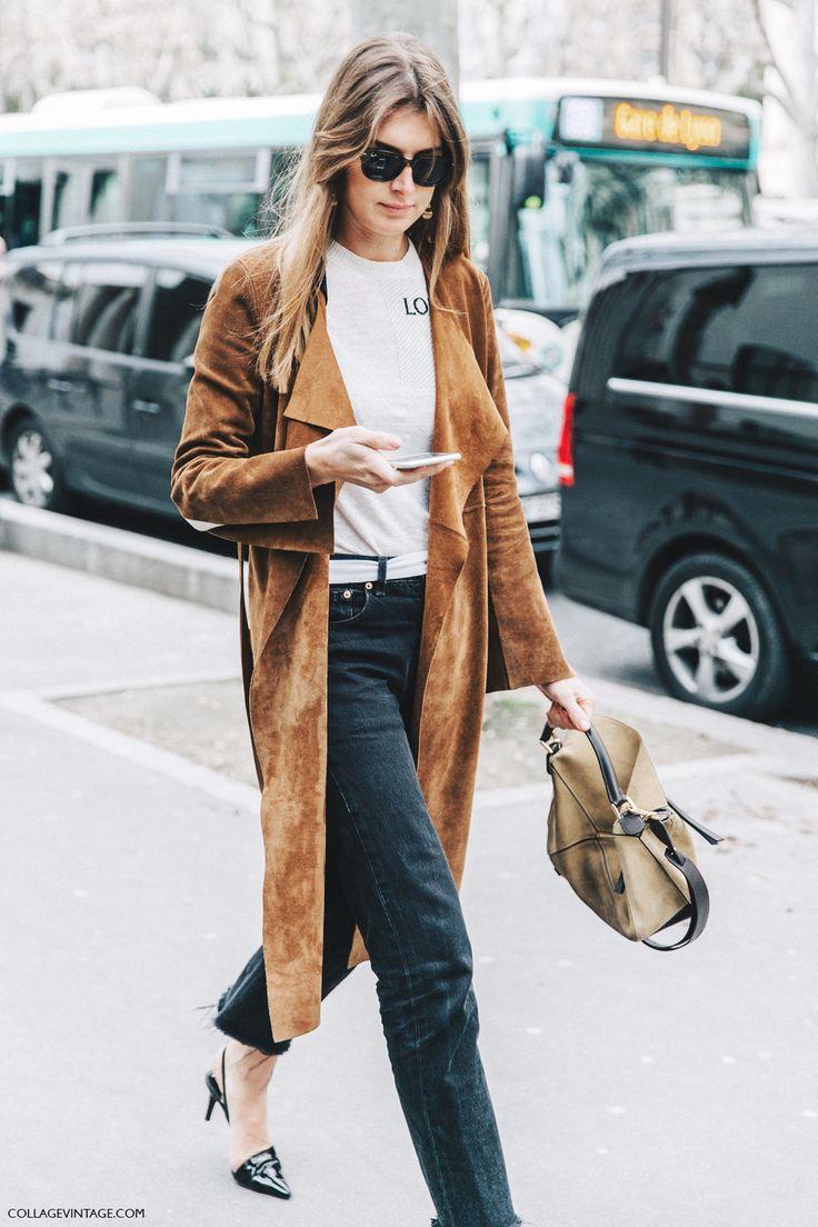 PFW-Paris_Fashion_Week_Fall_2016-Street_Style-Collage_Vintage-Loewe_Top-Suede_Trench-2