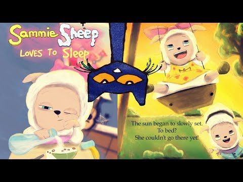 Pete the Cat Narrator - SAMMIE SHEEP LOVES TO SLEEP Book Reading Aloud Bedtime Story for Kids - YouTube