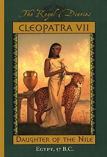 My favorite book from The Royal Diaries collection! Cleopatra VII
