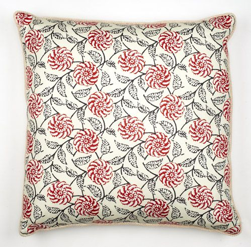 Daniel Stuart Studio - Toss Cushions - Santiago / Ladybug