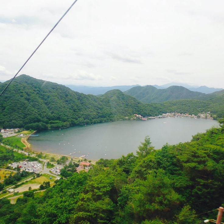 #榛名山 #ロープウェイ #群馬県 #高崎市 #日本で初めての15人乗り2両連結式ゴンドラ