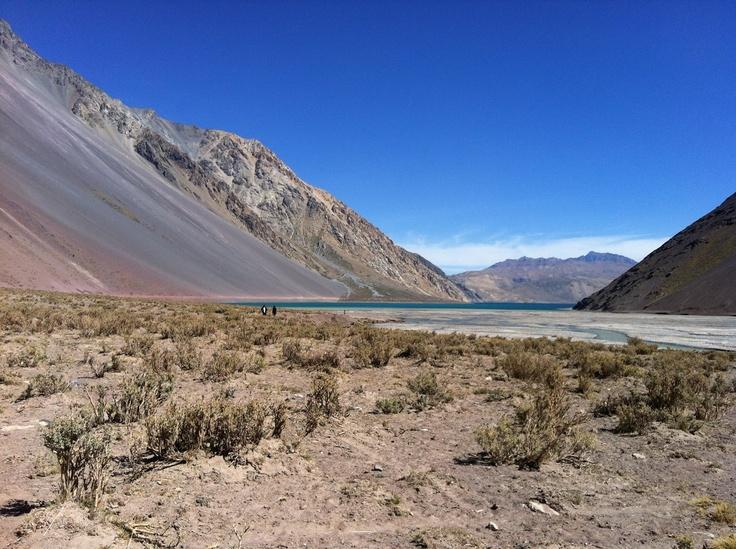 Embalse El Yeso, Cajón del Maipo. Foto de Nathaly Garrido.