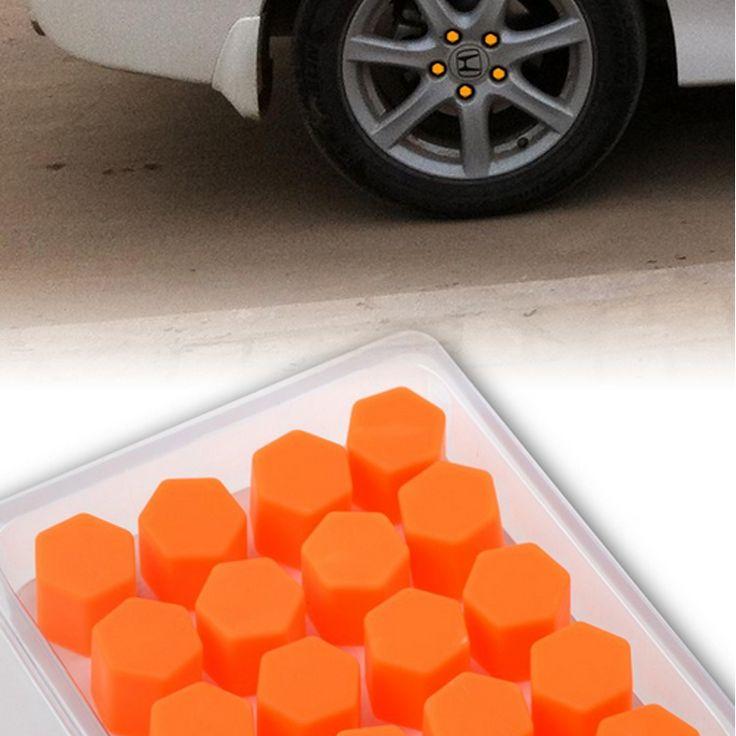 17/19/21 Silikonowe Luminous Car Wheel Hub Bolt Nakrętka Dekoracji Cap Pokrywa Car Styling Ochronne 20 sztuk