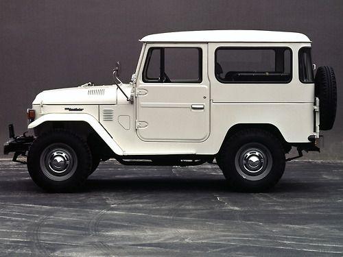 The Toyota Landcruiser FJ40, Old School 4x4.