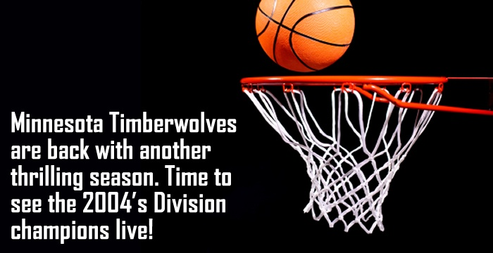 Basketball is more than a sport in the United States – it's a way of life.Among the most prominent basketball teams in the region are Minnesota Timberwolves.Get your Minnesota Timberwolves tickets today and catch this promising team in action.   http://www.ticketsmate.com/sports-tickets/professional-nba/minnesota-timberwolves/minnesota-timberwolves.php
