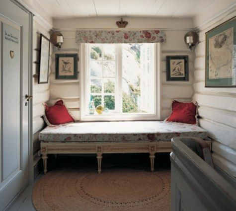 18th Century Gustavian Style in a Norwegian home.