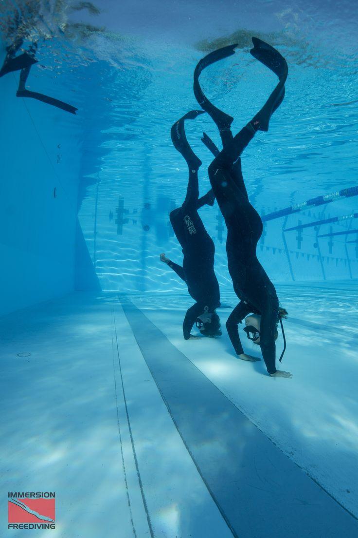 Pool Training negative entry #apnea #freedive
