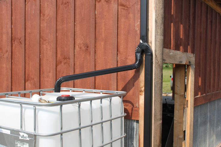 How To Install Your Own Rain Water Collection System On The Cheap - And Water For Free!